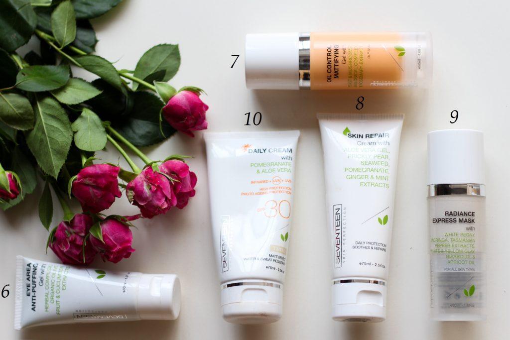 продукти на SEVENTEEN Cosmetics